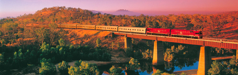 Great Southern Rail's The Ghan provides off-train excursion to Katherine Outback Experience during its stopover in Katherine