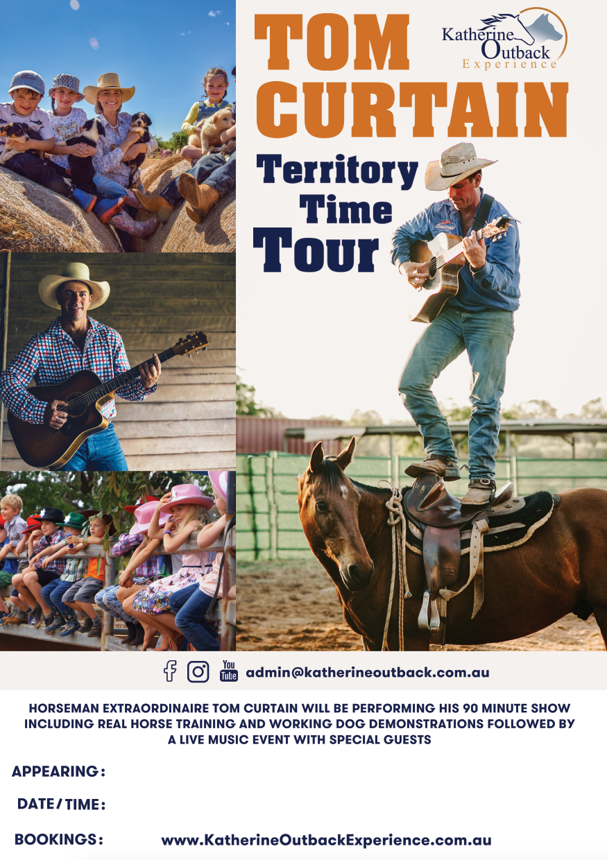 Tom Curtain's Territory Time Tour with Katherine Outback Experience