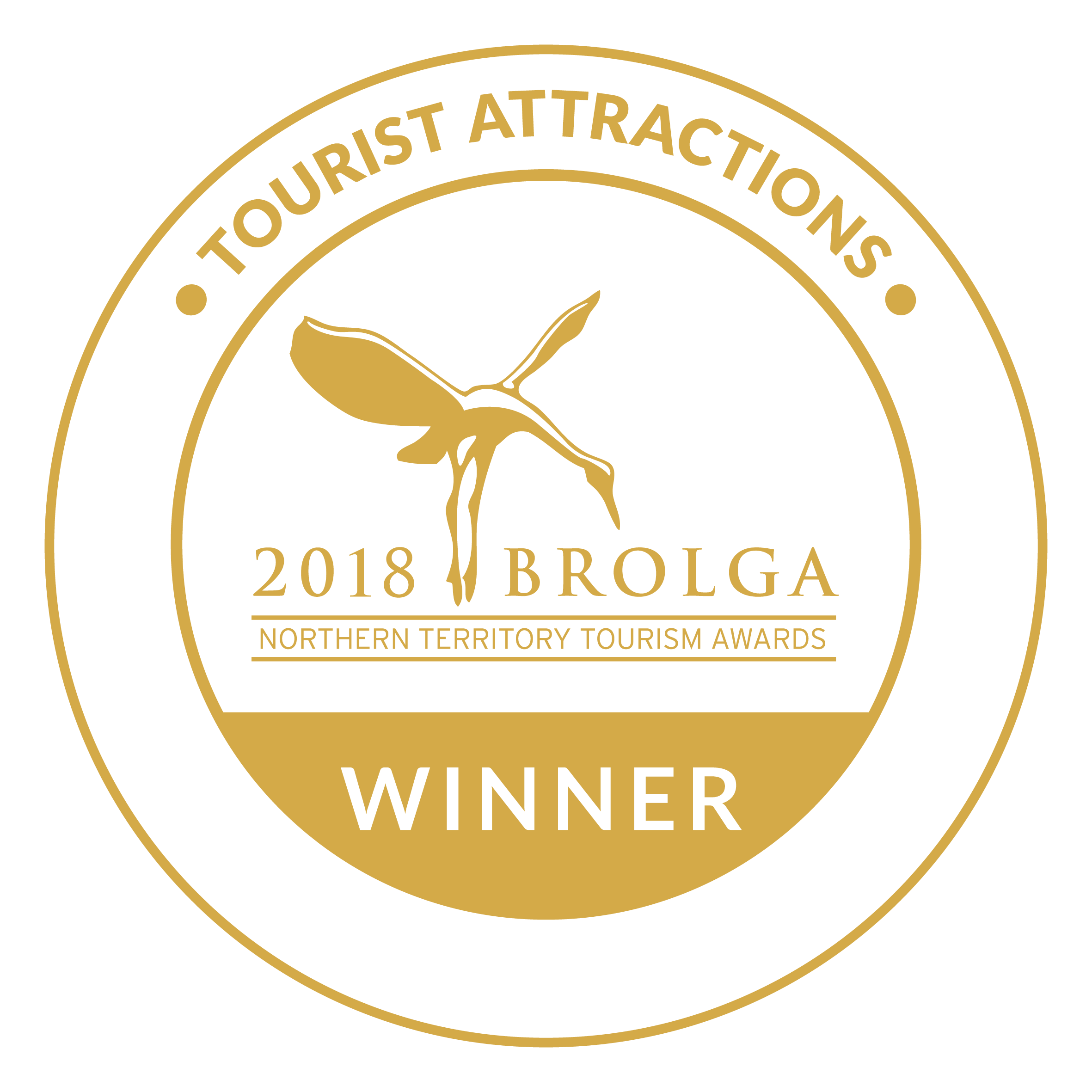 2018 Best Tourist Attraction in the Northern Territory