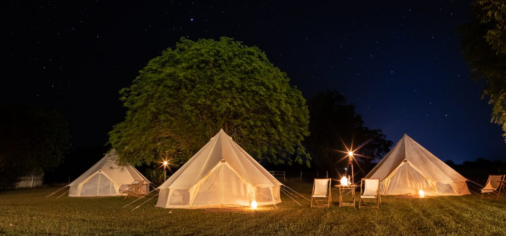 Glamping under the stars at Katherine Outback Experience