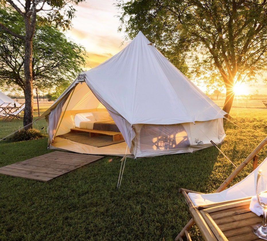 Glamping at Katherine Outback Experience